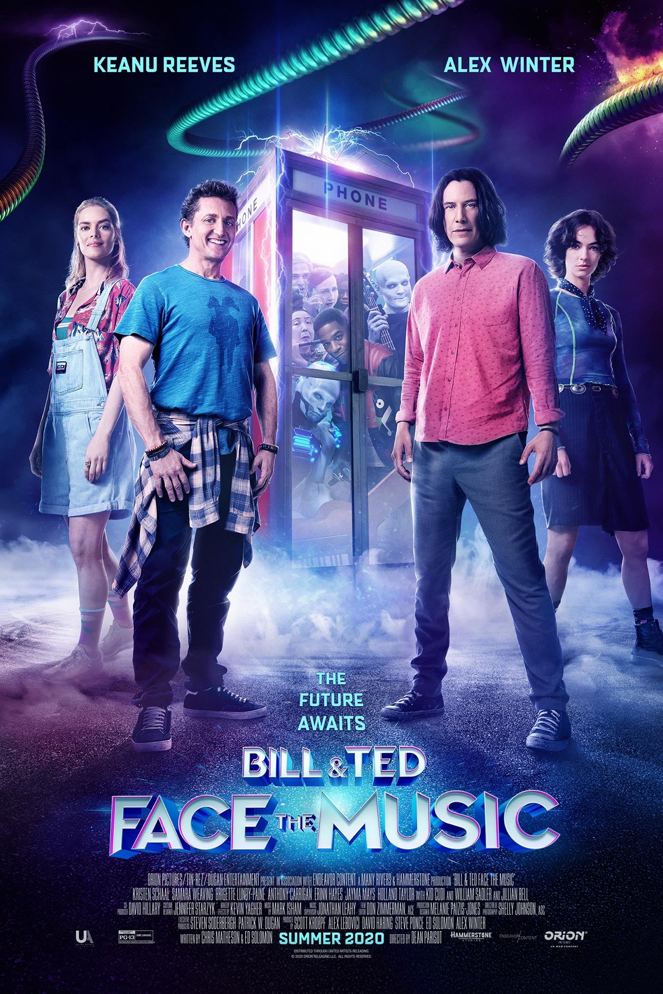 Bill & Ted Face the Music (2020) HDTV